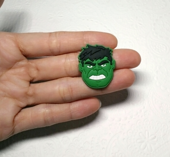 Small Hulk Silicone Mold 29mm Av Superheroes