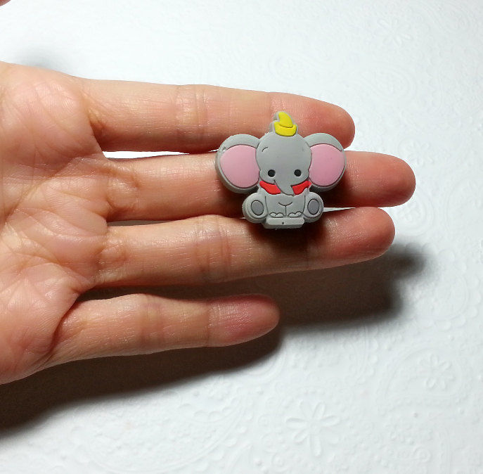 Dumbo Baby Elephant Silicone Mold 31mm Fondant Chocolate