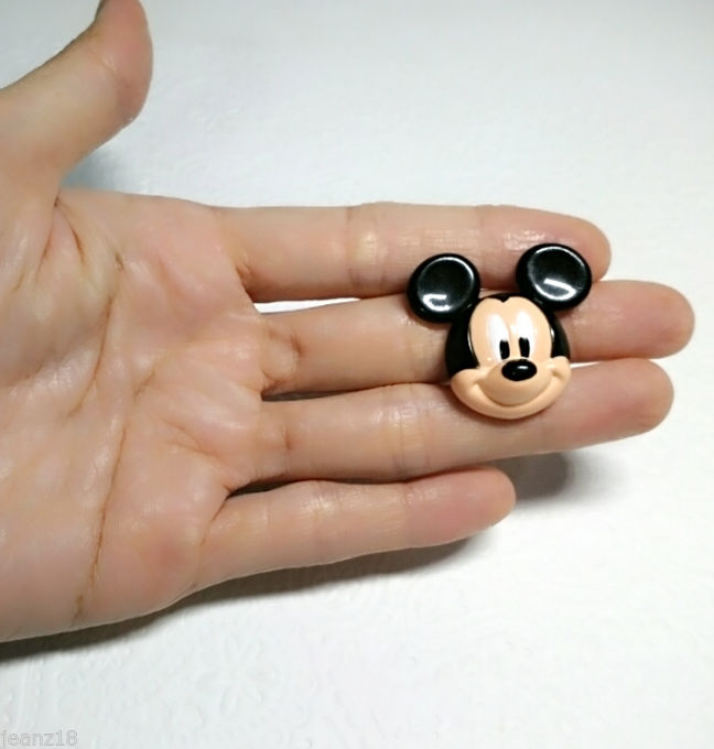 3D Mickey Mouse Silicone Mold (31mm) Fondant Candy
