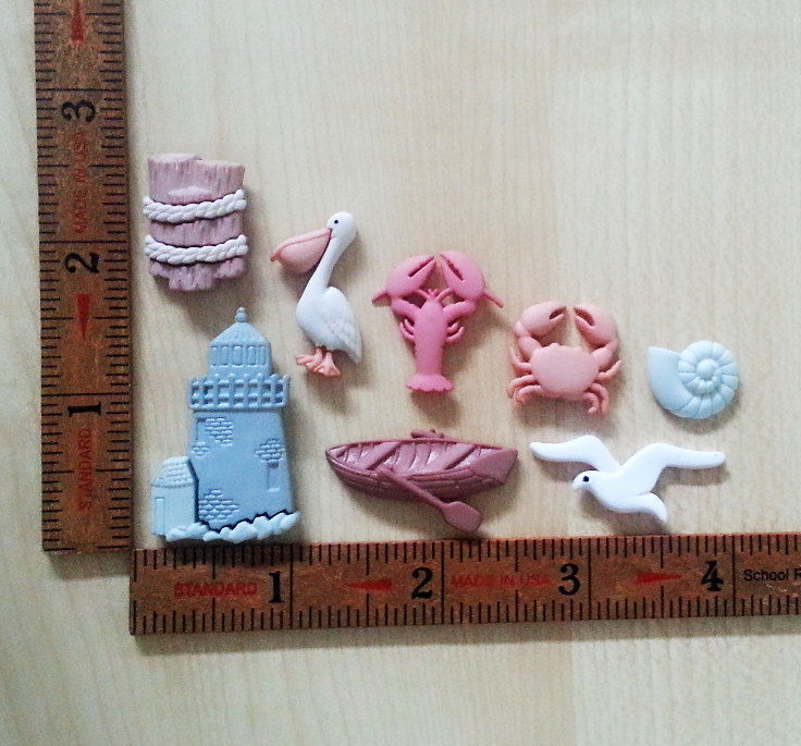 Silicone Mold Miniature Lobster Mould (25mm) Dollhouse Cake Decoration Clay  PMC