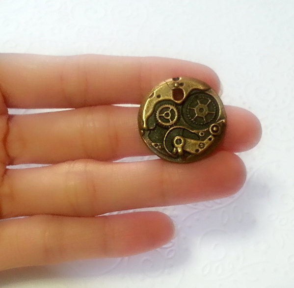 Steampunk Watch Gear Silicone Molds 25mm Cosplay